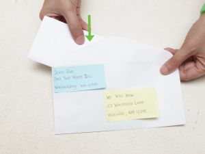 Window Envelope Letter Template - the 3 Best Ways to Fold and Insert A Letter Into An Envelope