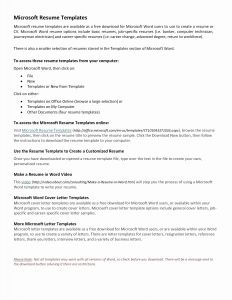 Word Resignation Letter Template - Line Letter Template Collection