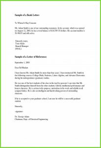 Word Resignation Letter Template - Example Resignation Letter