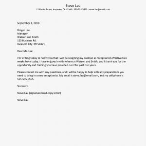 Write A Resignation Letter Template - What to Include In A Resignation Letter to Quit A Job