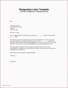 Write A Resignation Letter Template - How to Resigned Letter Lovely Writing A Great Resume Unique Resume