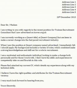 Writing A Covering Letter Template - Examples Good Cover Letters Inspirational who to Address Cover