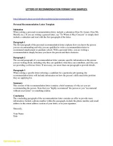 Writing Your Own Letter Of Recommendation Template - Writing Your Own Letter Re Mendation Template Free Creative New