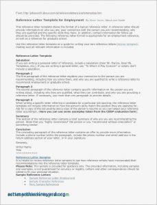 Writing Your Own Letter Of Recommendation Template - Letter Re Mendation Template for Employee Collection