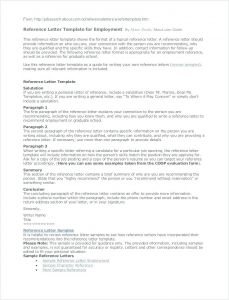 Writing Your Own Letter Of Recommendation Template - Reference Letter for Employment Job Search Letters Sample Resume now