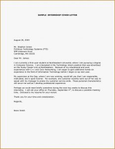 Year In Review Letter Template - Cover Letter Examples for Internships Model Purpose Resume Cover